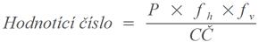 Hodnotící číslo ČMSS Liška